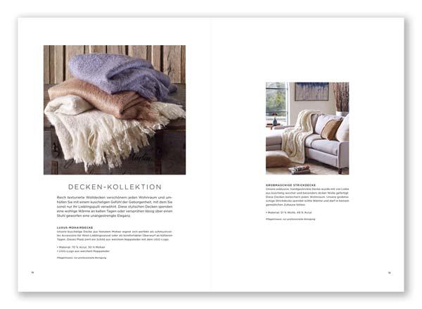 ugg Katalogseite Interiordesign Wohnwelt