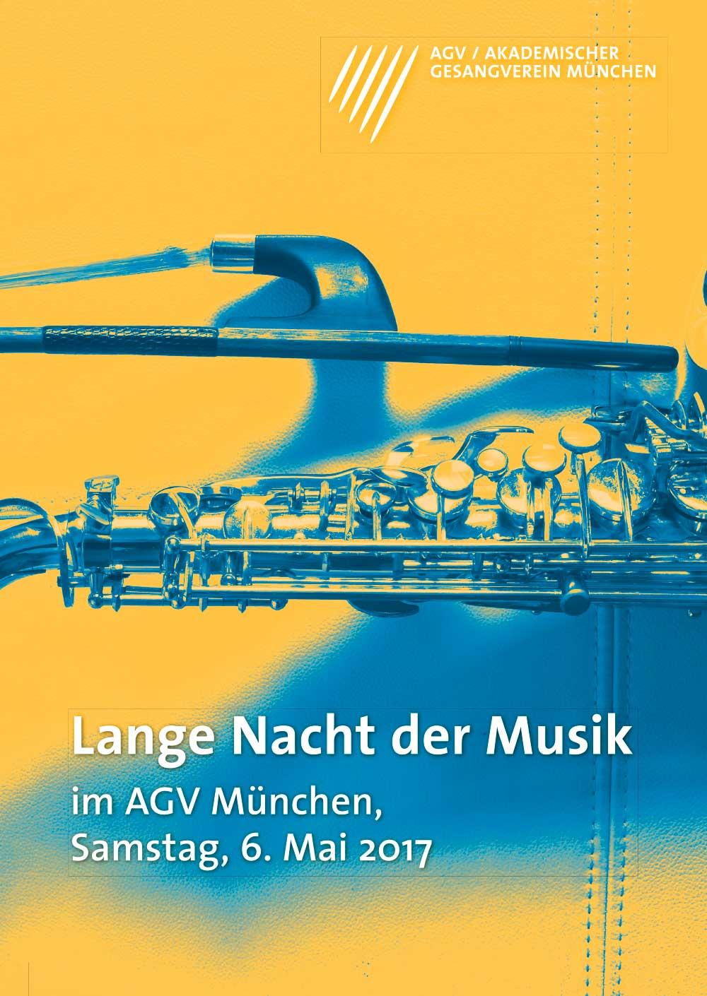 Akademischer Gesangsverein München Lange Nacht der Musik Poster 2