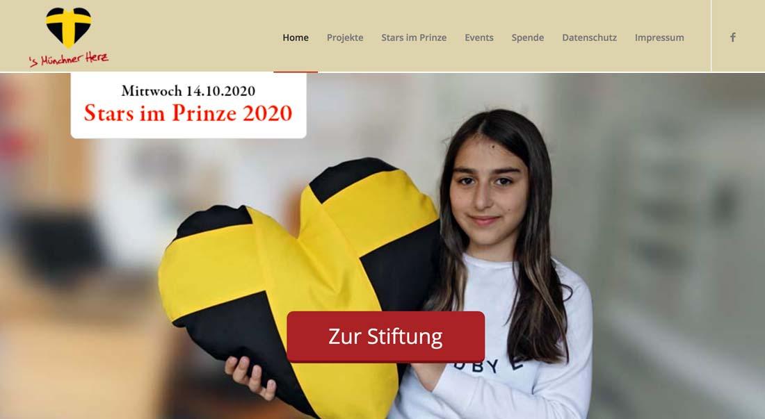 Screen Design Münchner Herz