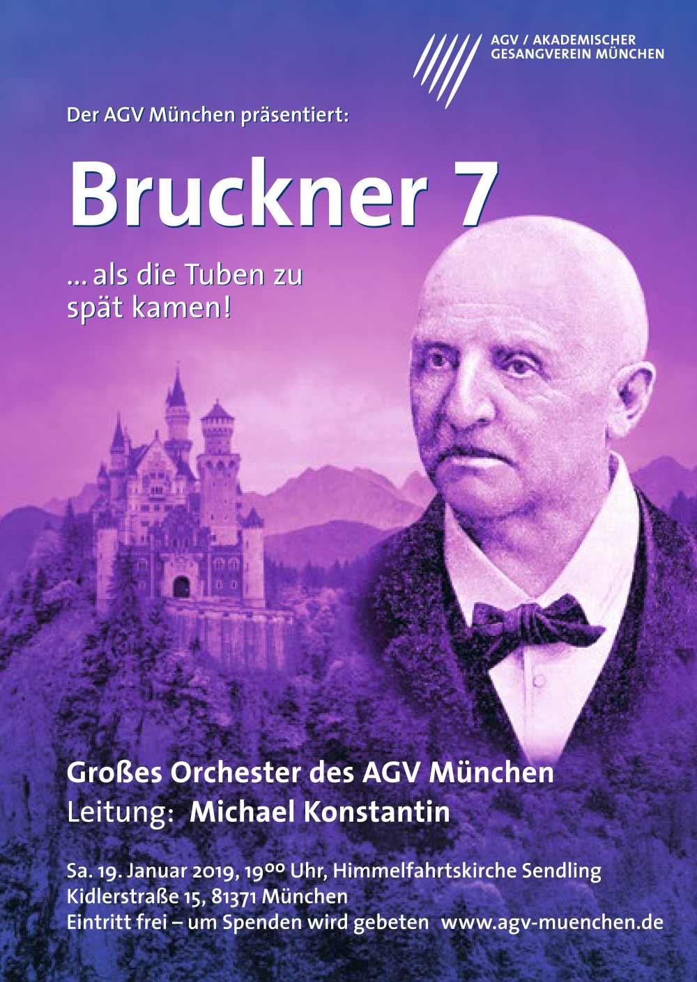 Akademischer Gesangsverein München Plakat