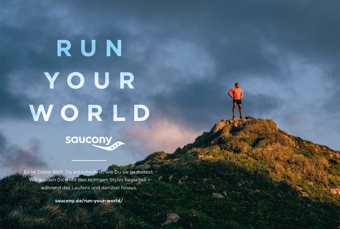 Saucony laufshop banner