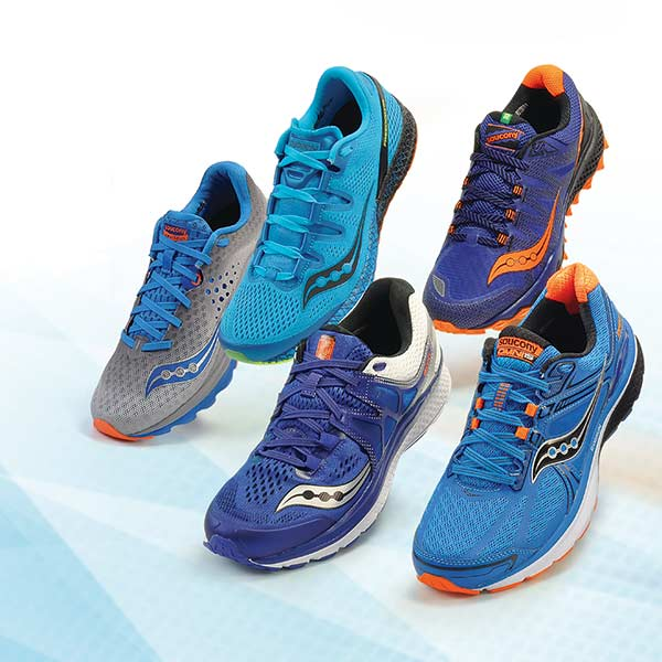 Saucony color variants blue