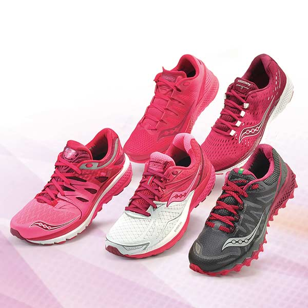 Saucony Color Variants pink