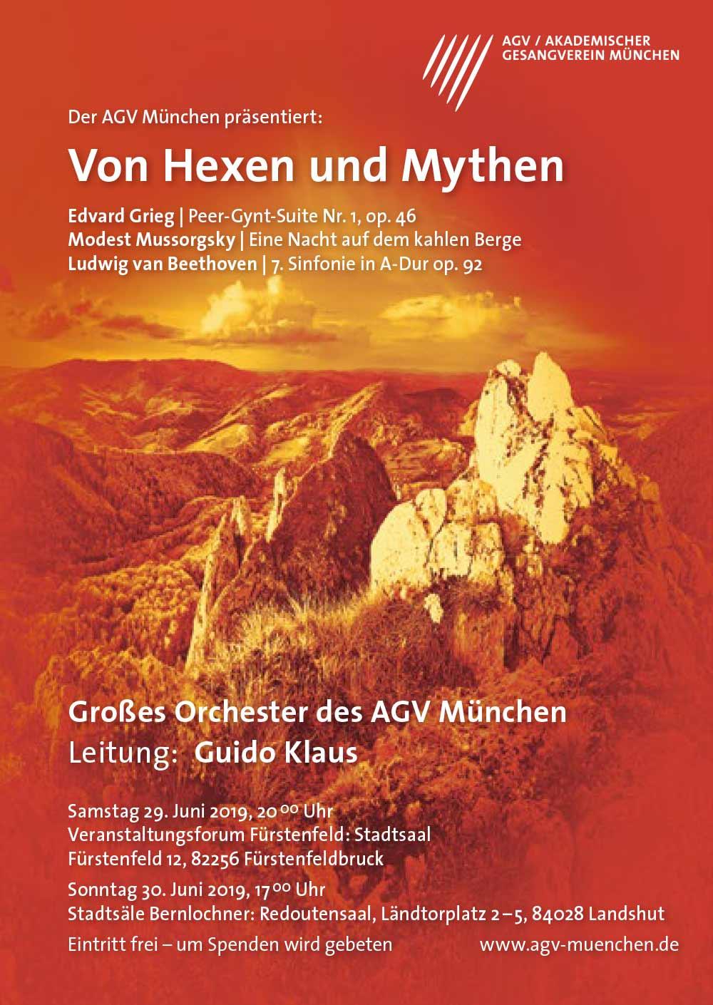 Plakat 2 Akademischer Gesangsverein München