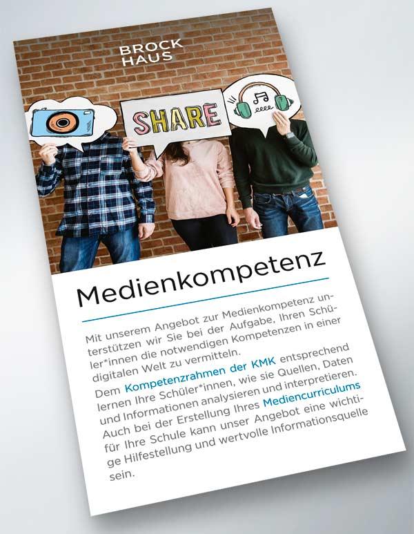Liedtke & Kern Brockhaus Flyer Medienkompetenz