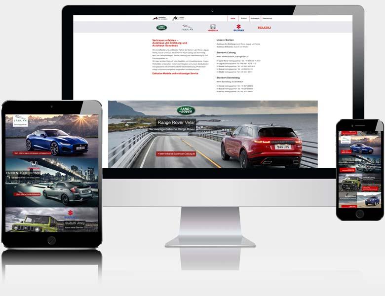 Webdesign Liedtke & Kern Beispiel autohaus-eichberg.de