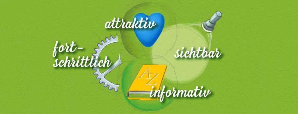 vier Kriterien für Ihre erfolgreiche Internetseite