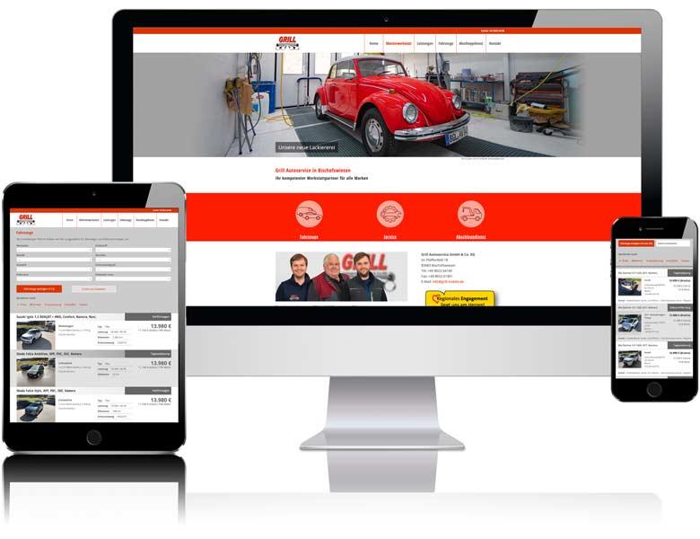 Webseite für grill-mobile.de fon Liedtke & Kern