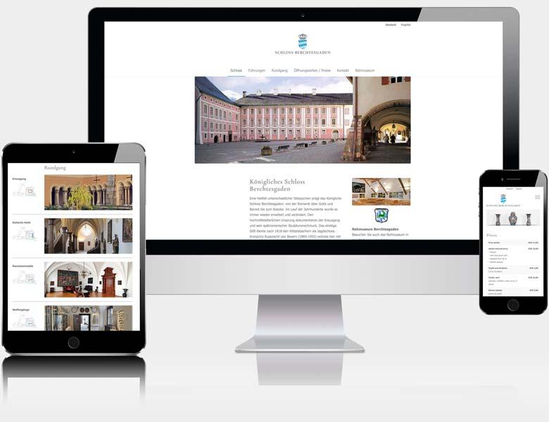 Homepage Schloss Berchtesgaden von Liedtke & Kern