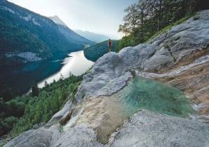 Fotoproduktion Königsbachfall fürs Berchtesgadener Land