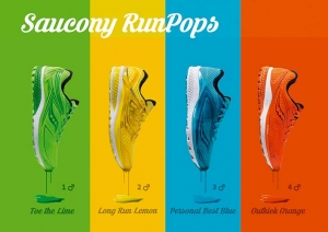 Poster Saucony Schuhedition RunPops