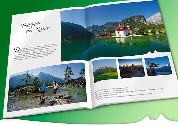 Liedtke & Kern Kreativagentur: Imagebroschüre Tourismusregion Berchtesgaden-Königssee
